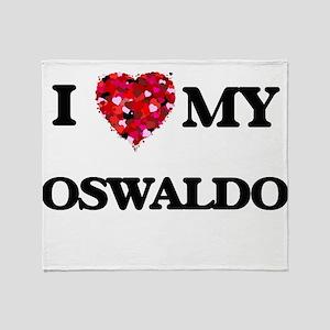 I love my Oswaldo Throw Blanket