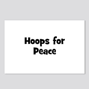 Hoops for Peace Postcards (Package of 8)