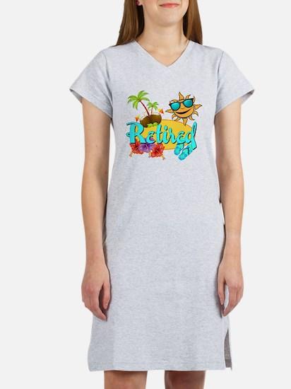 Retired Beach Women's Nightshirt