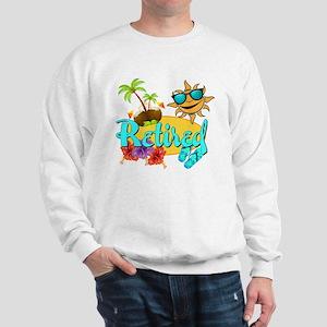 Retired Beach Sweatshirt