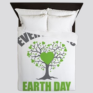 Every Day Earth Day Queen Duvet