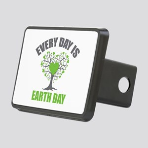 Every Day Earth Day Rectangular Hitch Cover