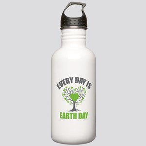 Every Day Earth Day Stainless Water Bottle 1.0L
