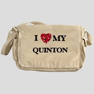I love my Quinton Messenger Bag