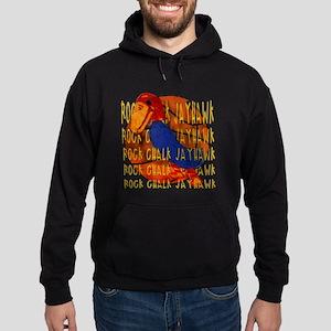 Rock Chalk Jayhawk Basketball Hoodie