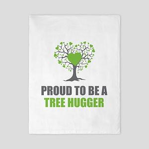 Tree Hugger Twin Duvet