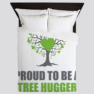 Tree Hugger Queen Duvet