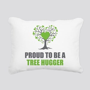 Tree Hugger Rectangular Canvas Pillow