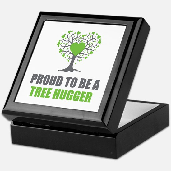 Tree Hugger Keepsake Box
