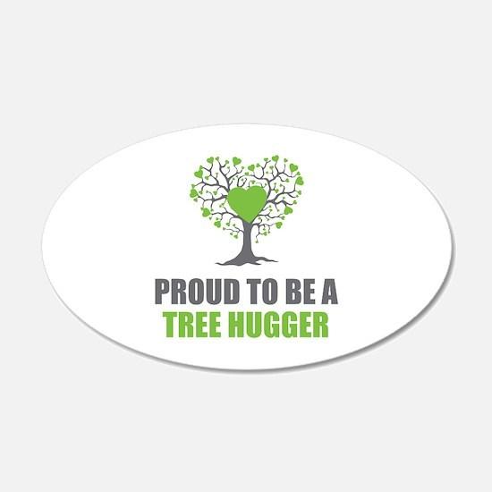 Tree Hugger Decal Wall Sticker