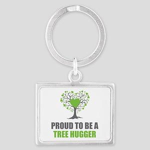 Tree Hugger Landscape Keychain
