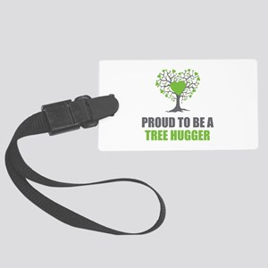 Tree Hugger Large Luggage Tag
