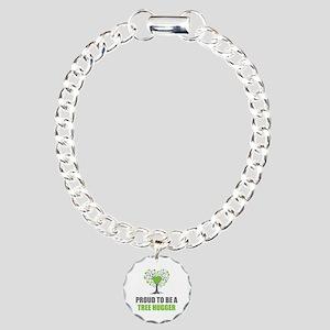 Tree Hugger Charm Bracelet, One Charm