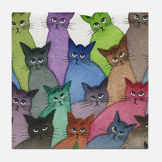 Saint Paul Stray Cats Tile Coaster
