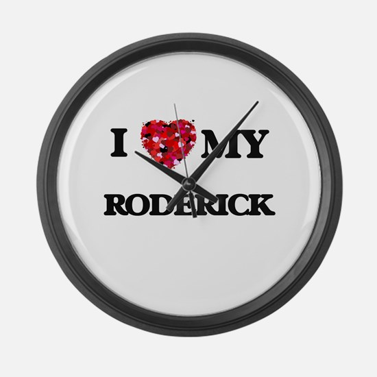 I love my Roderick Large Wall Clock