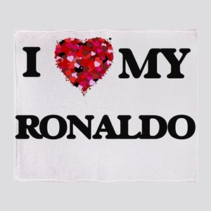 I love my Ronaldo Throw Blanket