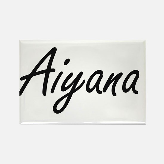 Aiyana artistic Name Design Magnets