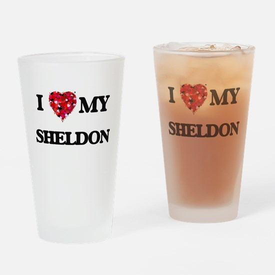 I love my Sheldon Drinking Glass