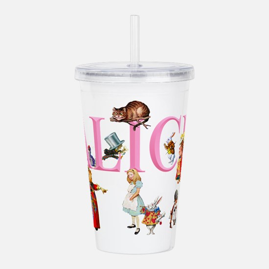 Alice and Friends in Acrylic Double-wall Tumbler