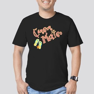Cancun Mexico - Men's Fitted T-Shirt (dark)