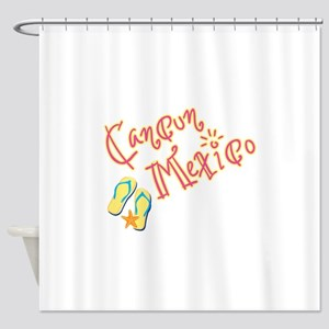 Cancun Mexico - Shower Curtain