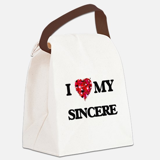 I love my Sincere Canvas Lunch Bag