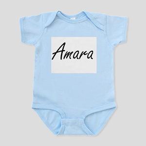 Amara artistic Name Design Body Suit