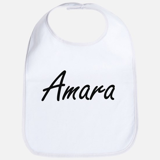 Amara artistic Name Design Bib
