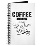 Coffee and Positive Vibes Journal