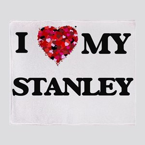 I love my Stanley Throw Blanket