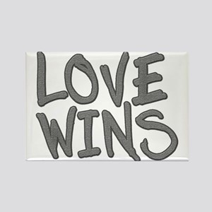 Love Wins! Marriage Equality Fridge Magnets