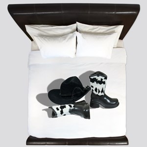 CowboyLeatherAccessories092610 King Duvet