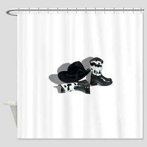 CowboyLeatherAccessories092610 Shower Curtain