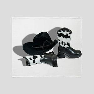 CowboyLeatherAccessories092610 Throw Blanket