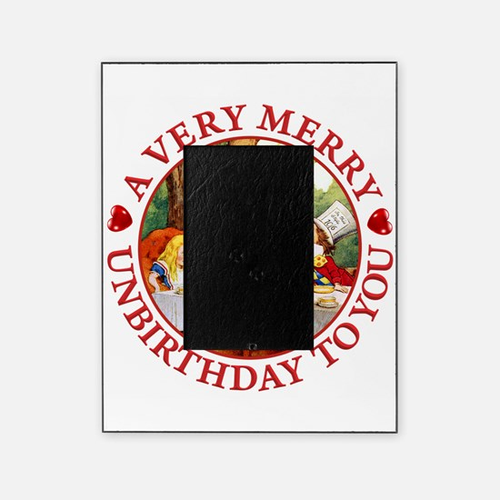 A Very Merry Unbirthday To You Picture Frame