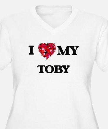 I love my Toby Plus Size T-Shirt