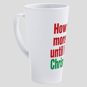 Not Christmas 17 oz Latte Mug