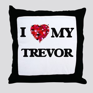 I love my Trevor Throw Pillow