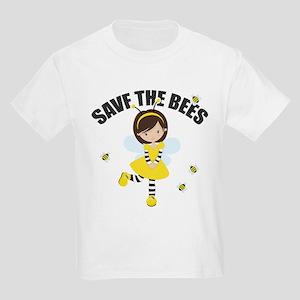 Save the Bees Kids Light T-Shirt