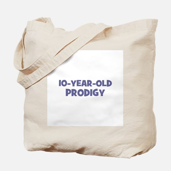 10-Year-Old Prodigy Tote Bag