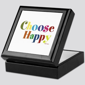 Choose Happy 01 Keepsake Box