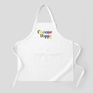 Choose Happy 01 Apron