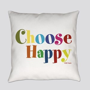 Choose Happy 01 Everyday Pillow