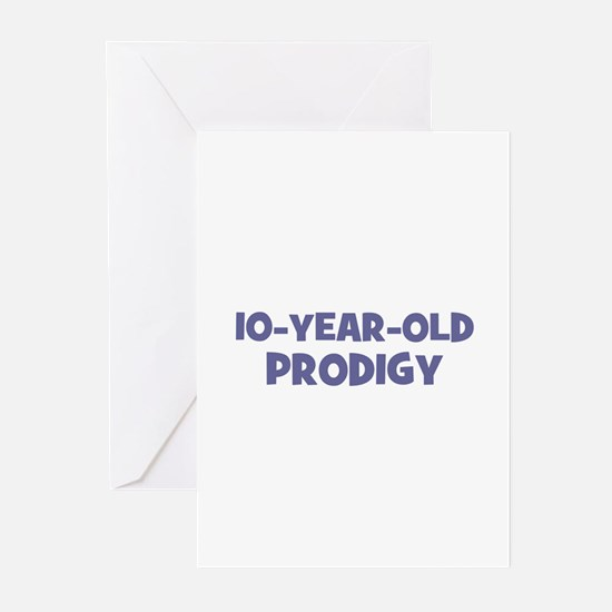 10-Year-Old Prodigy Greeting Cards (Pk of 10)