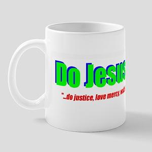 Jesus Justice Mug