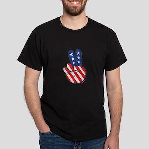 Peace USA Flag-01 T-Shirt