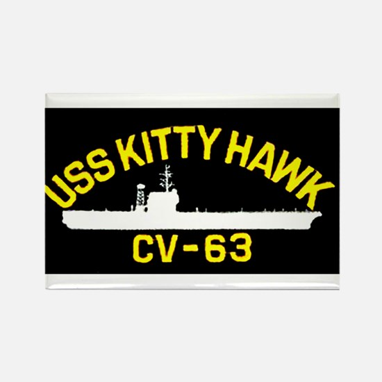 USS KITTY HAWK CV-63 Magnets
