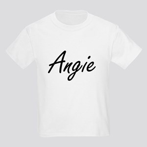 Angie artistic Name Design T-Shirt
