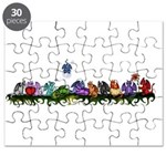 many cute Dragons Puzzle