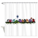 many cute Dragons Shower Curtain